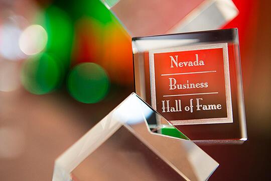 Nevada Business Hall of Fame logo