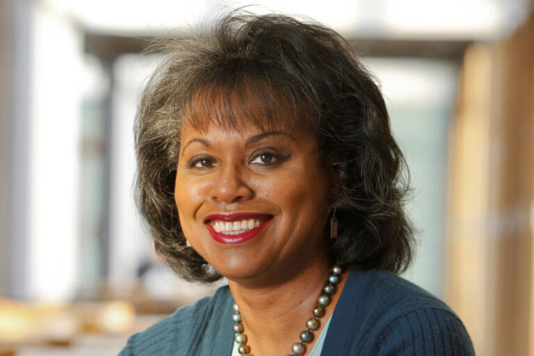 headshot image of Anita Hill
