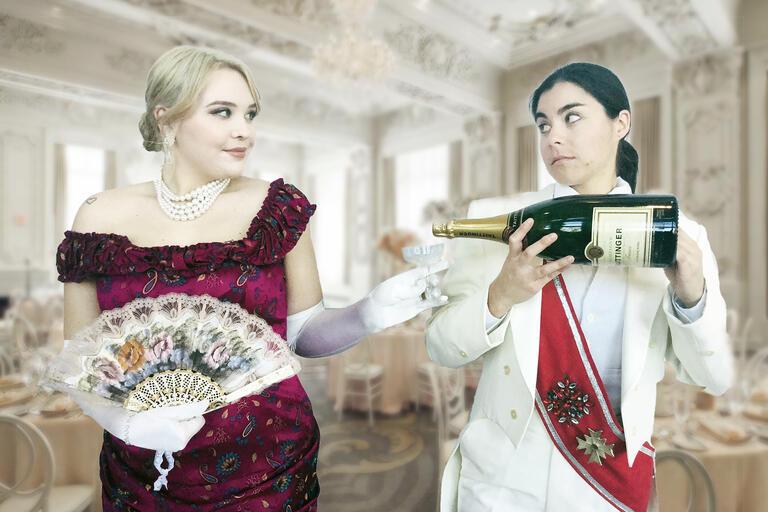 Adele and Orlofsky from Die Fledermaus