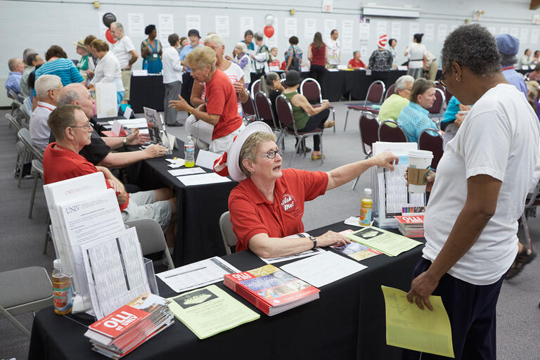 The Osher Lifelong Learning Institute at UNLV holds its annual open house
