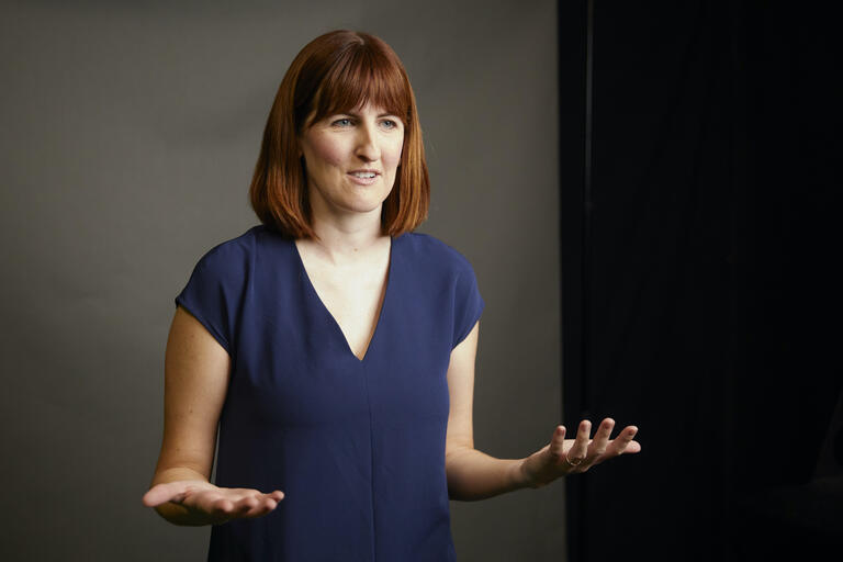 UNLV communication studies professor Rebecca Rice