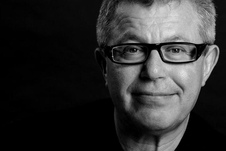 close-up of daniel libeskind