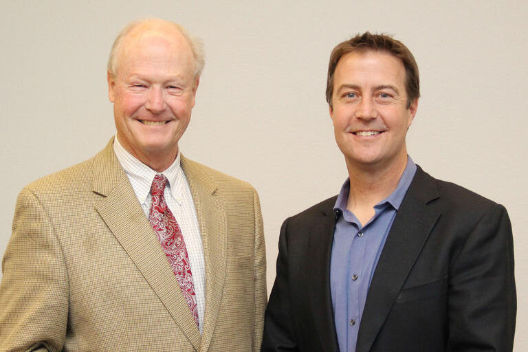 Bill Eadington and Bo Bernhard
