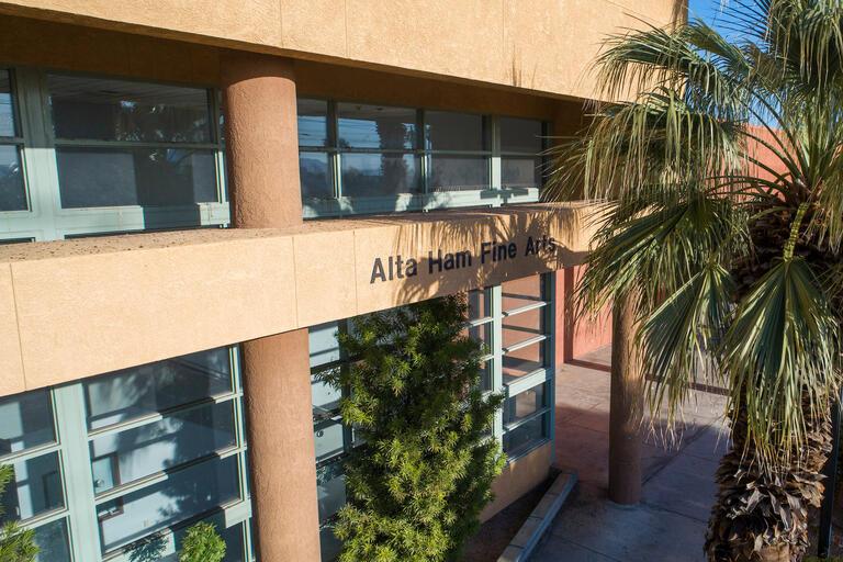 The Alta Ham Fine Arts building