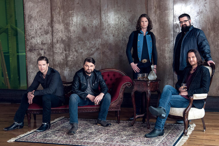 Home Free group shot