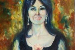 Rita Asfour self portrait