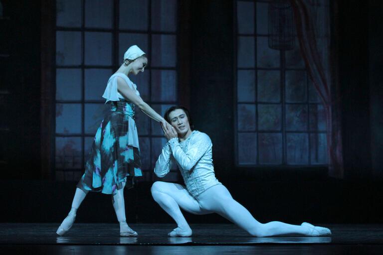 two ballet dancers