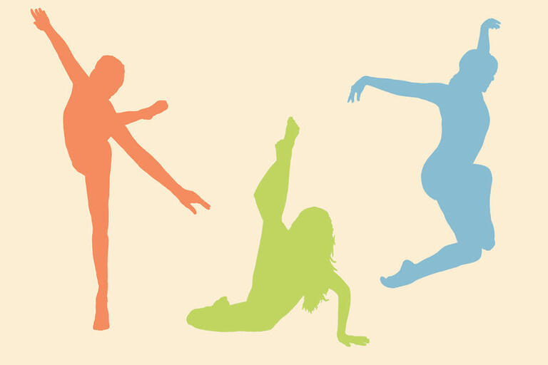 drawings of people dancing