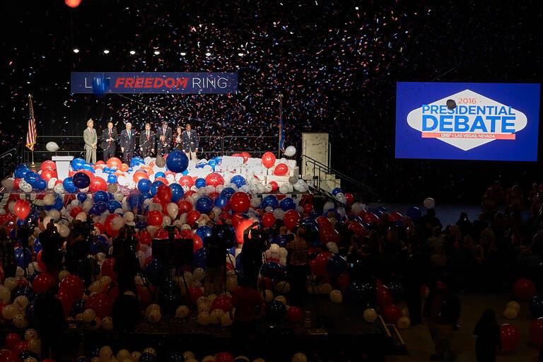 kick off for 2016 presidential debate