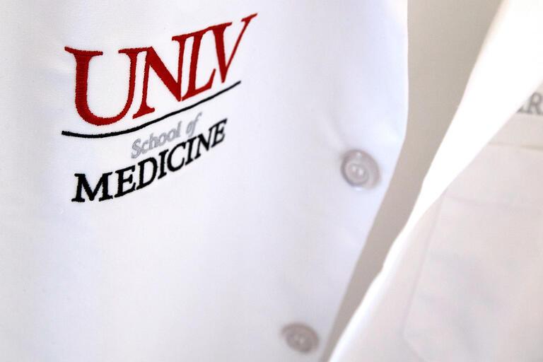T-shirt with  UNLV School of Medicine logo