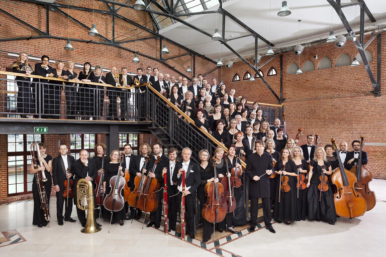 Polish Baltic Philharmonic group shot