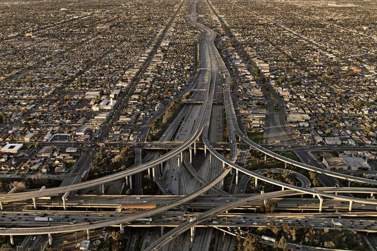 Highway #5, Los Angeles, California, USA, 2009