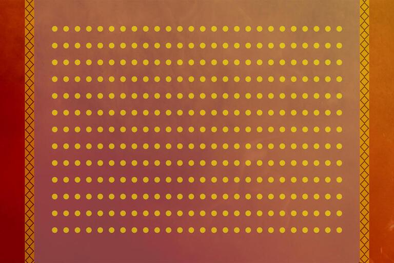 a pattern of dots