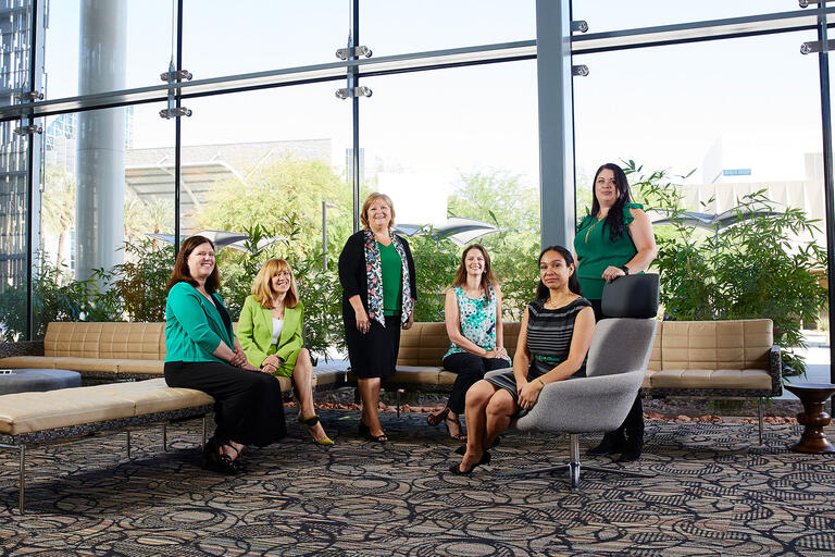 Six UNLV researchers