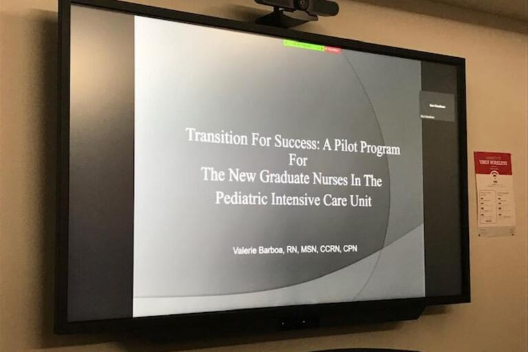 Dr. Barboa's DNP Defense Project: improving PICU NGN training