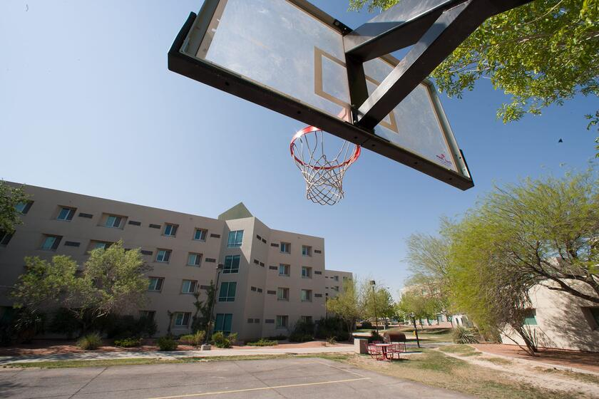 Campus Housing Basketball Courts