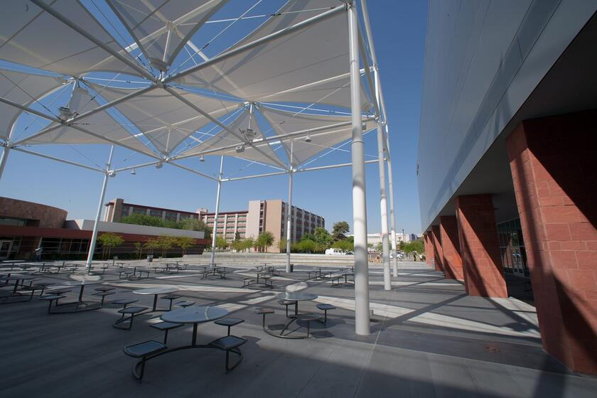 Student Union Courtyard