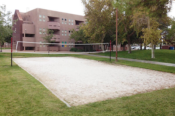 Campus Housing Volleyball Courts