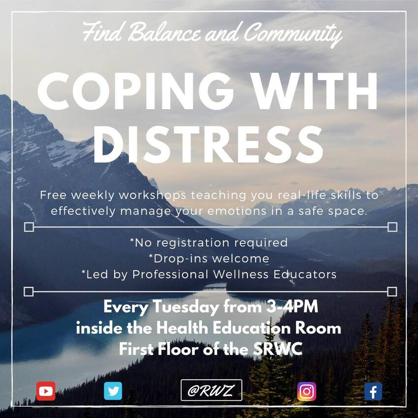 Coping with Distress poster