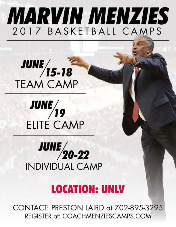 Marvin Menzies Basketball Camp | Calendar | University of ...