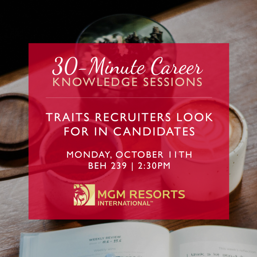 30-Minute Career Knowledge Sessions