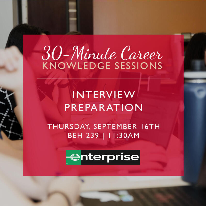 30-Minute Career Knowledge Sessions - Interview Preparation