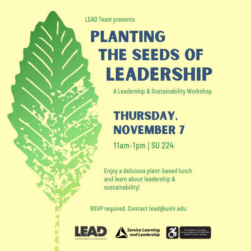 Planting the Seeds of Leadership. See description for details.