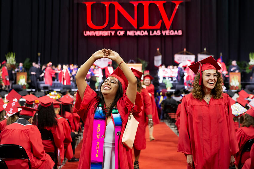 Winter 2020 Commencement | Calendar | University of Nevada, Las Vegas