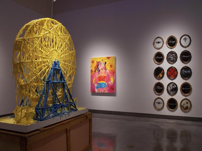 An art exhibition.