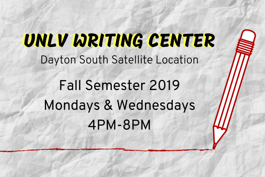 UNLV Writing Center: Details in event