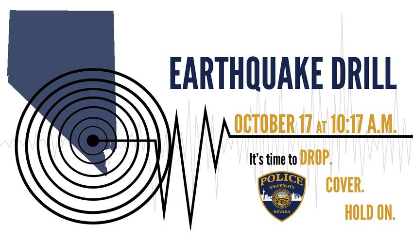 Earthquake Drill Poster