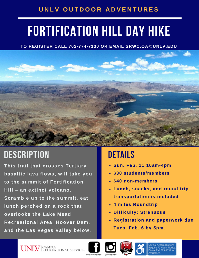 Fortification Hill Hike Poster
