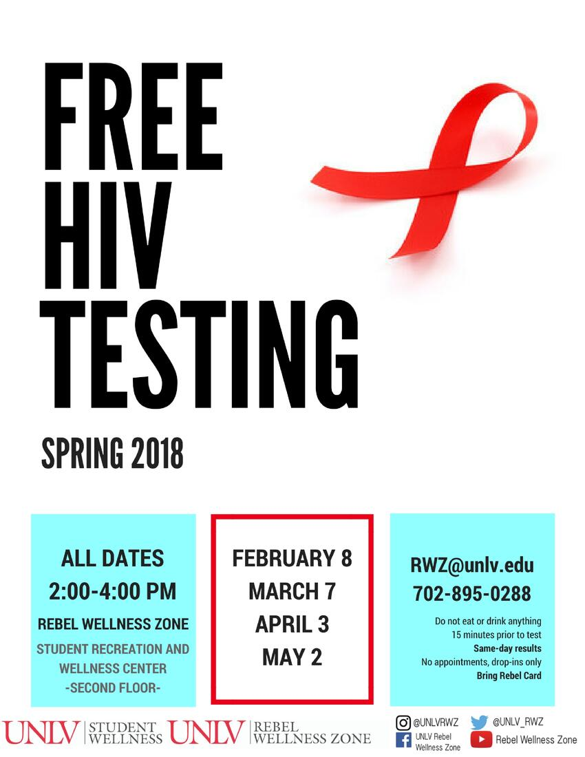 Free HIV Testing Flyer