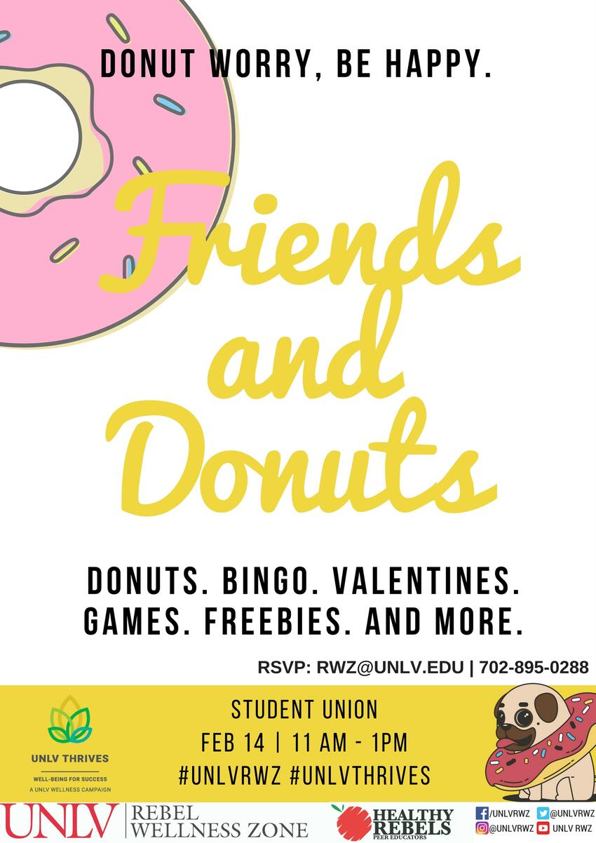 Friends and Donuts poster
