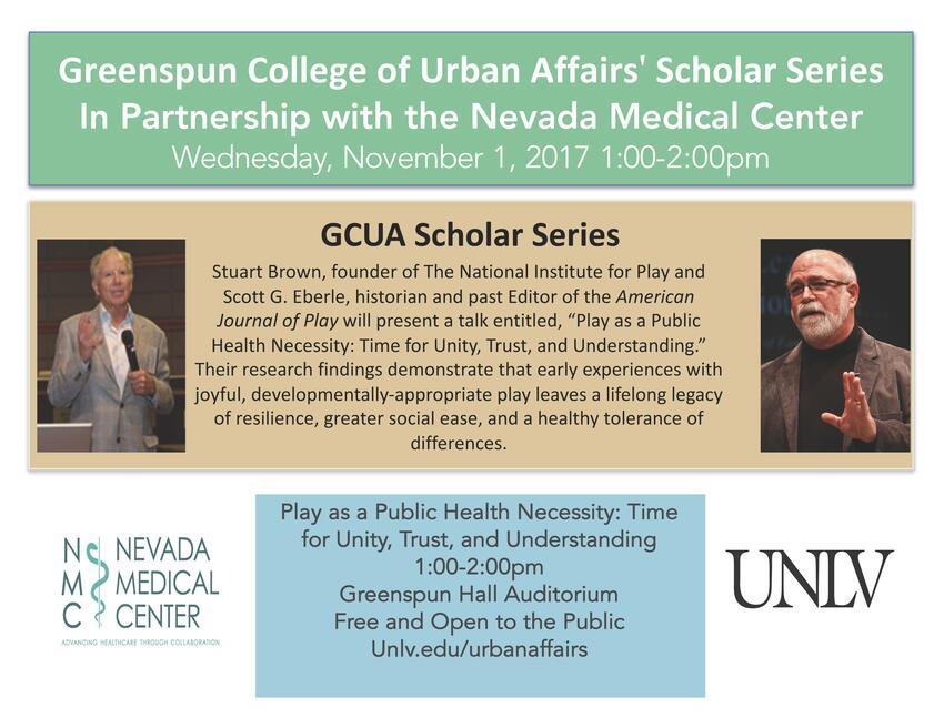 GCUANMC Scholar Series Flyer