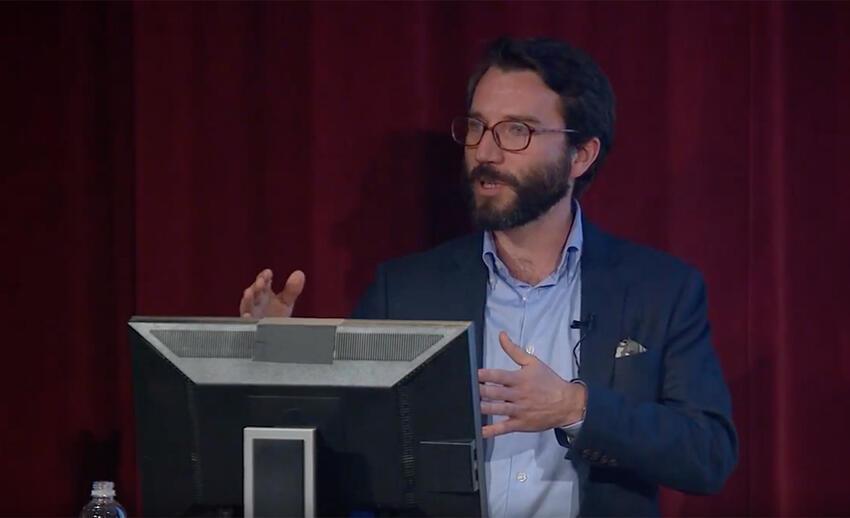 Geoffrey Gerts, Brookings Scholar Lecture Series Speaker