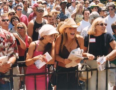 spectators at a horse race