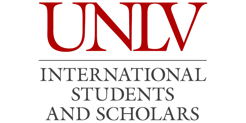UNLV International Students and Scholars logo