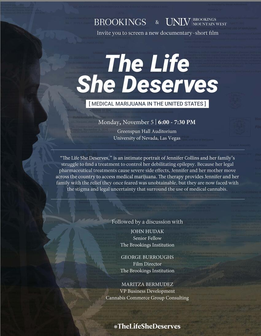 """The Life She Deserves"" Documentary Poster"