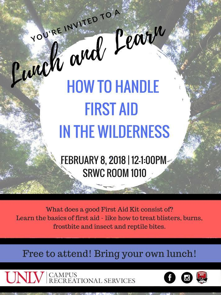 Lunch and learn poster