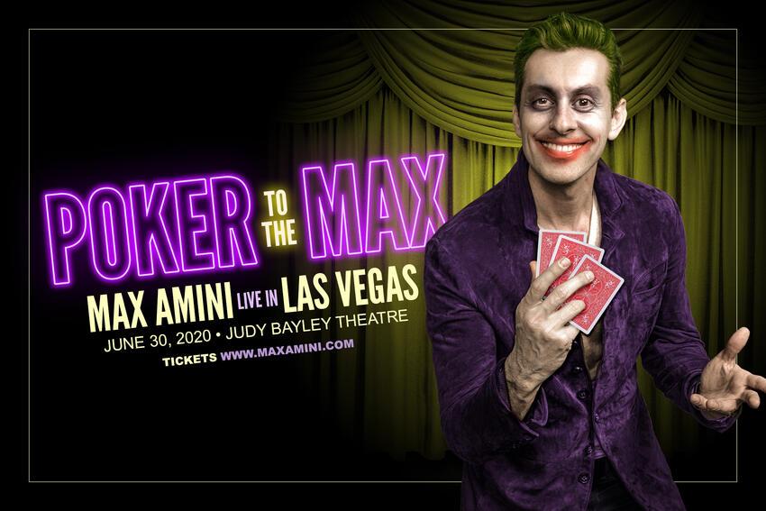 Poker to the Max - Max Amini Live in Las Vegas