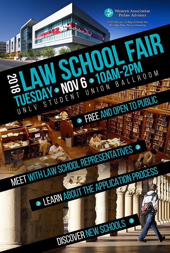 2018 Law Fair flyer