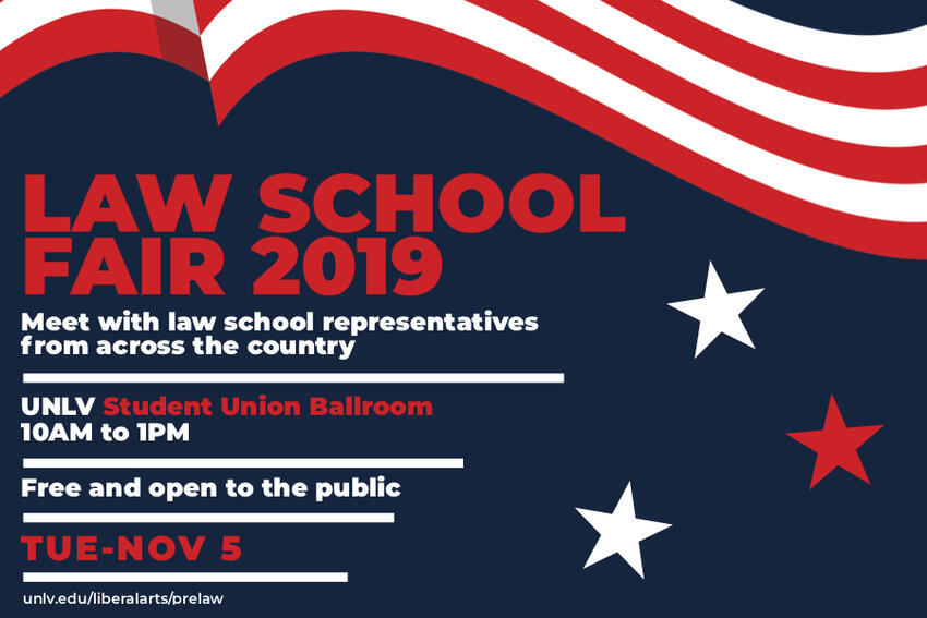 Law School Fair 2019: Meet with law school representative from across the country.