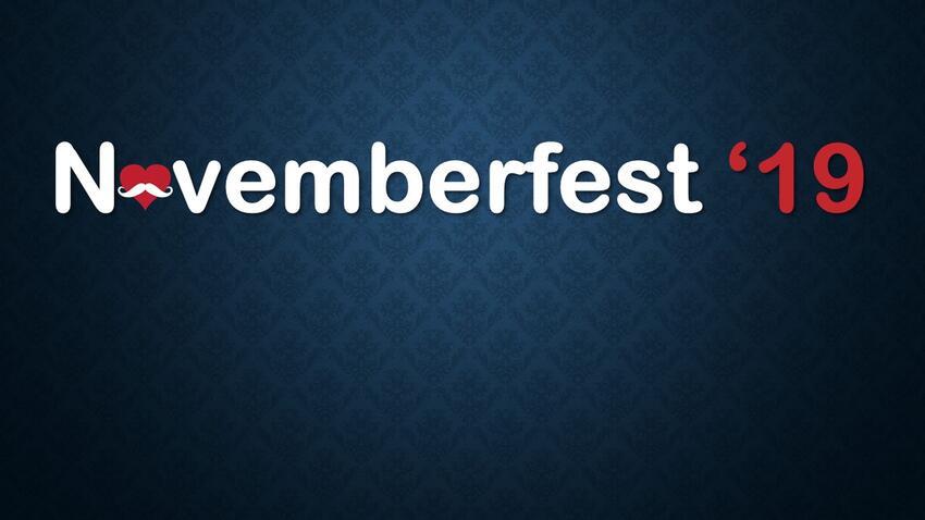Novemberfest Banner