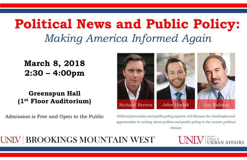 Political blogging event poster