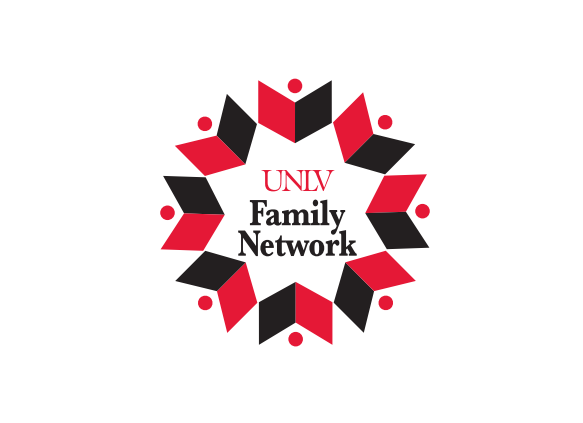 A banner with the title UNLV Family Network.