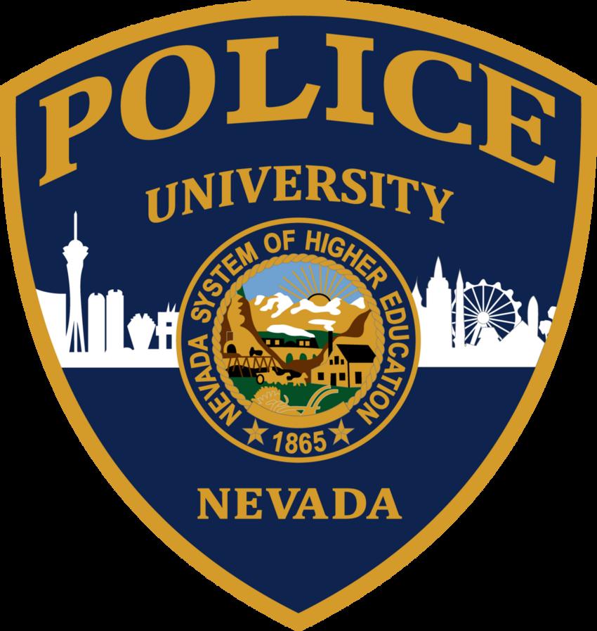 Police University Nevada Badge