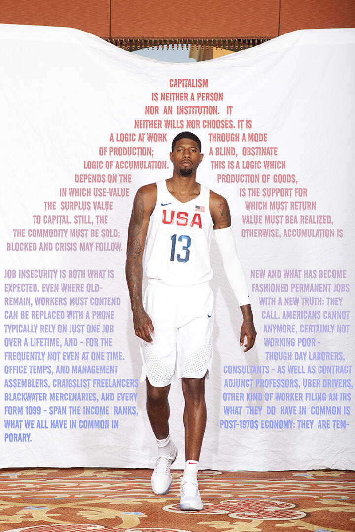 Paul George Capitalism poster