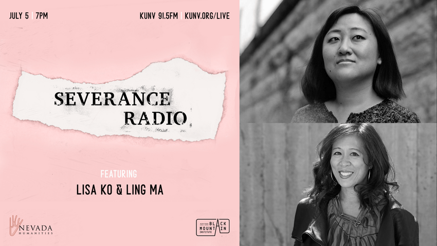 Serevance Radio with an image featuring Lisa Ko and Ling Ma