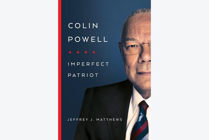 Colin Powel book cover: Imperfect Patriot